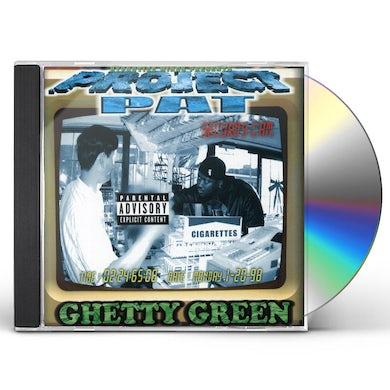Project Pat GHETTY GREEN CD
