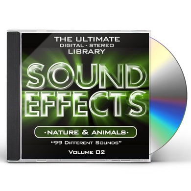 SOUND EFFECTS: NATURE & A 2 CD