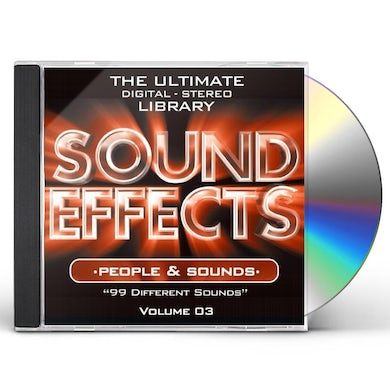SOUND EFFECTS: PEOPLE & S 3 CD