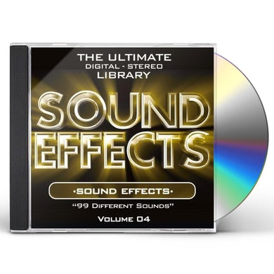 SOUND EFFECTS: DIFFERRENT 4 CD