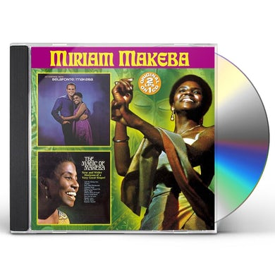 EVENING WITH MIRIAM MAKEBA / MAGIC OF MIRIAM CD