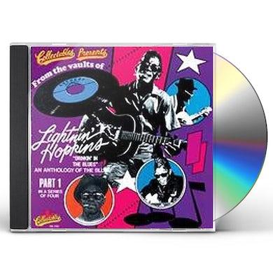 Lightnin Hopkins DRINKIN IN THE BLUES 1 CD