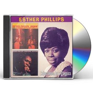 Esther Phillips BURNIN / CONFESSIN THE BLUES CD