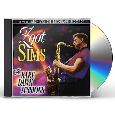 Zoot Sims RARE DAWN SESSIONS CD