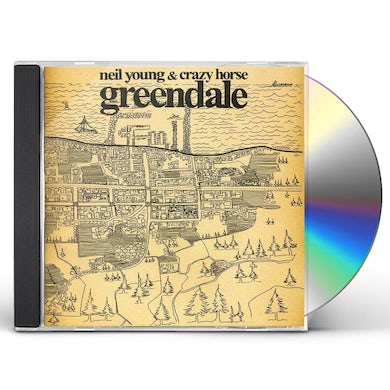 Neil Young & Crazy Horse GREENDALE CD