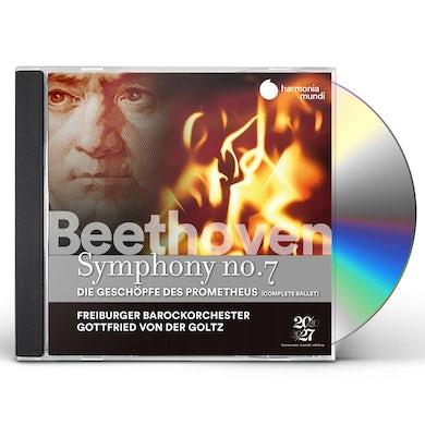 Freiburger Barockorchester BEETHOVEN: SYM NO. 7 THE CREATURES OF PROMETHEUS CD