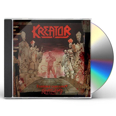 Kreator TERRIBLE CERTAINTY CD