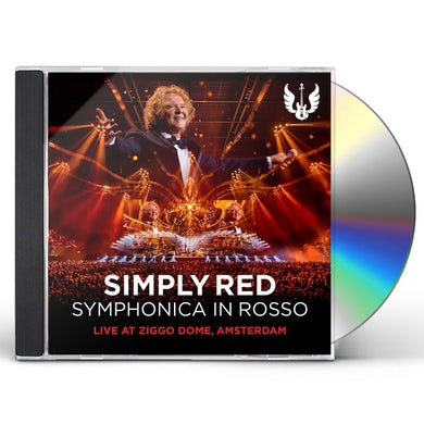 Simply Red SYMPHONICA IN ROSSO (LIVE AT ZIGGO DOME AMSTERDAM) CD