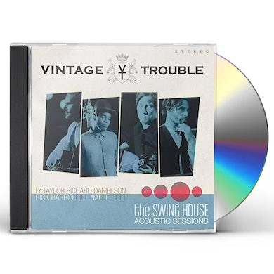 Vintage Trouble SWING HOUSE ACOUSTIC SESSI CD