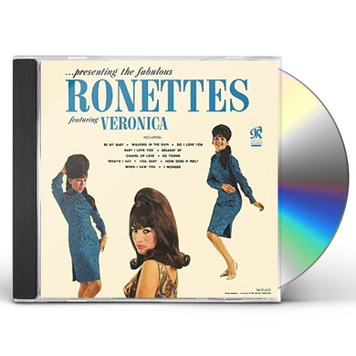 PRESENTING THE FABULOUS RONETTES CD