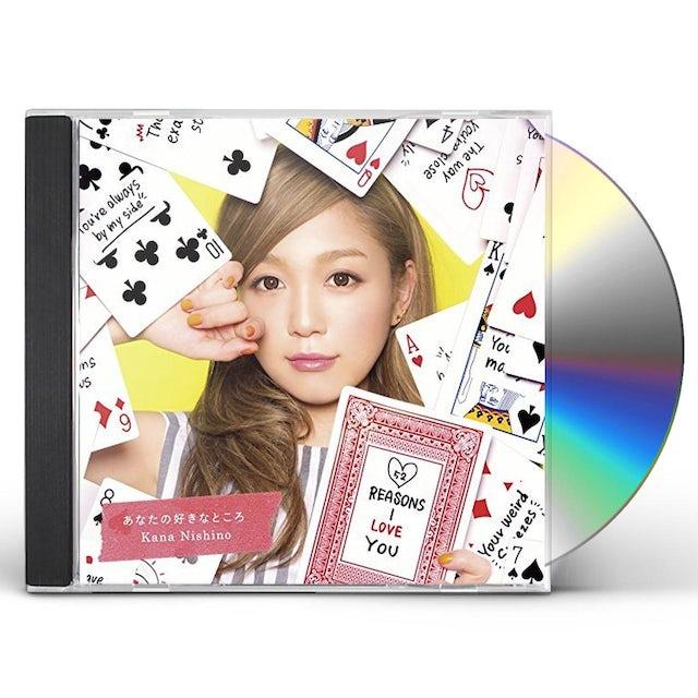Kana Nishino ANATA NO SUKI NA TOKORO CD