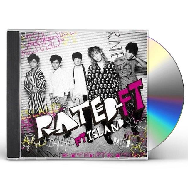 FTISLAND RATED-FT CD