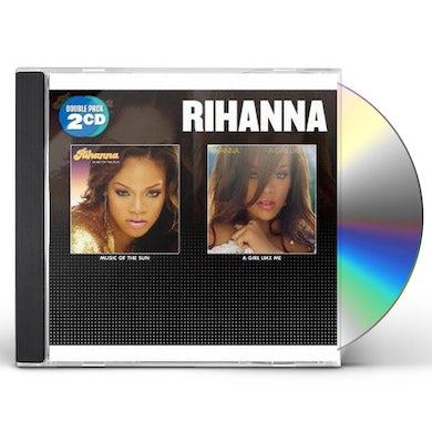 Rihanna MUSIC OF THE SUN / A GIRL LIKE ME CD