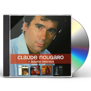 Claude Nougaro 4 ORIGINAL ALBUMS CD