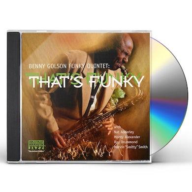 Benny Golson THAT'S FUNKY CD