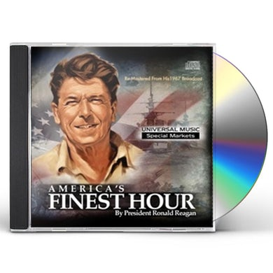 Ronald Reagan AMERICA'S FINEST HOUR CD