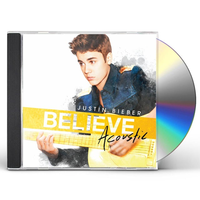 Justin Bieber BELIEVE ACOUSTIC CD