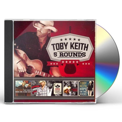 Toby Keith 5 ROUNDS CD