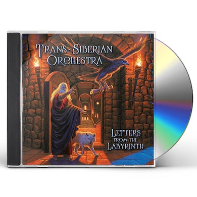 Trans-Siberian Orchestra LETTERS FROM THE LABYRINTH CD