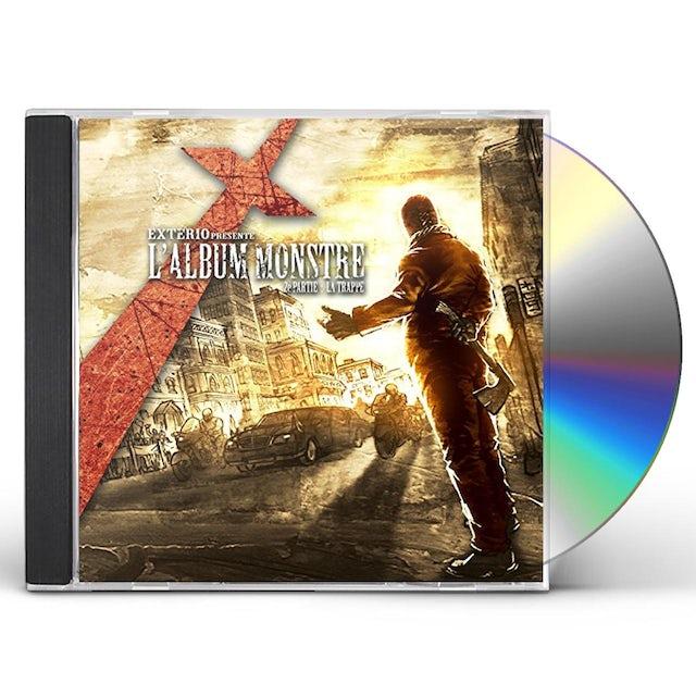 Exterio L'ALBUM MONSTRE: 2E PARTIE: LA TRAPPE CD