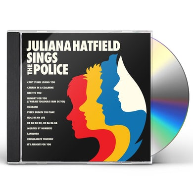 Juliana Hatfield SINGS THE POLICE CD