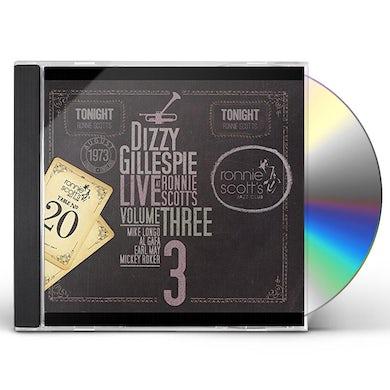 Dizzy Gillespie LIVE AT RONNIE SCOTT'S III CD