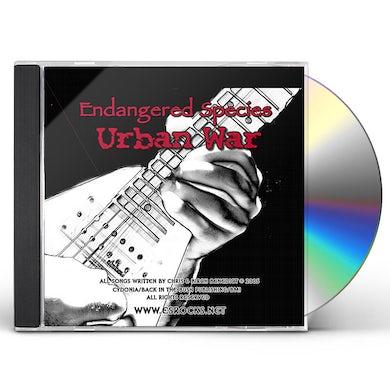 Endangered Species URBAN WAR CD