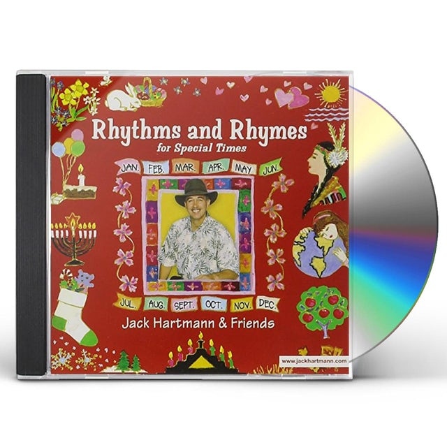 Jack Hartmann RHYTHMS AND RHYMES FOR SPECIAL TIMES CD