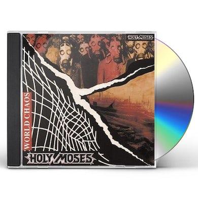 Holy Moses WORLD CHAOS CD