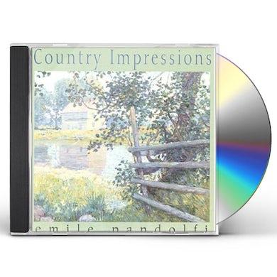 Emile Pandolfi COUNTRY IMPRESSIONS CD