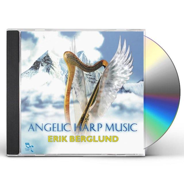 Erik Berglund ANGELIC HARP MUSIC CD