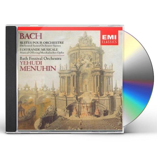 J.S. Bach ORCHESTRAL SUITES CD