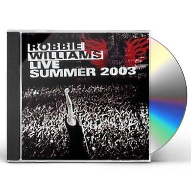Robbie Williams LIVE SUMMER 2003 CD