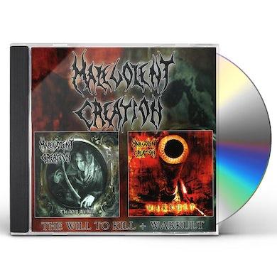 WARKULT / WILL TO KILL CD