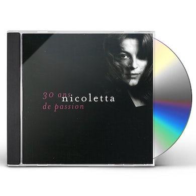 Nicoletta 30 ANS DE PASSION CD