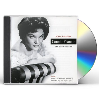 Connie Francis WHO'S SORRY NOW: HITS COLLECTION CD