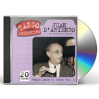 Juan d'Arienzo TANGOS PARA EL MUNDO V 2 CD