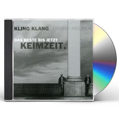 Keimzeit KLING KLANG, COMIC-HELDEN CD