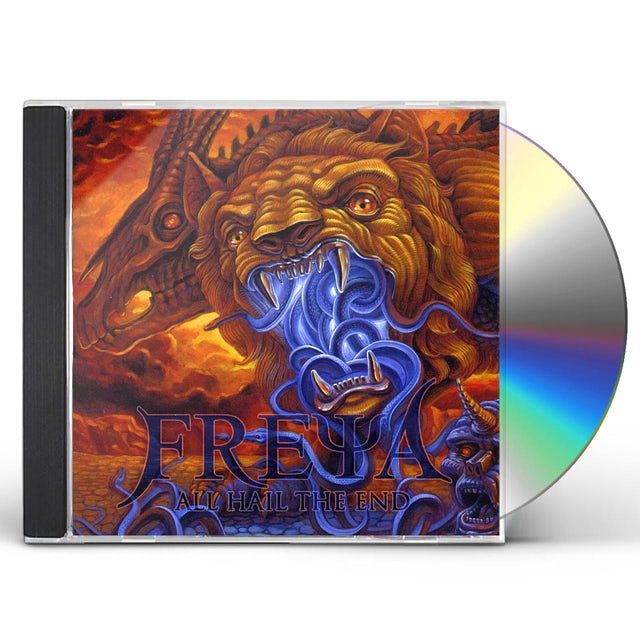 Freya ALL HAIL THE END CD