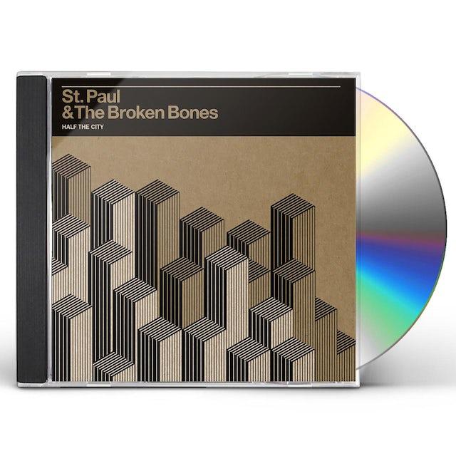 St Paul & Broken Bones HALF THE CITY CD