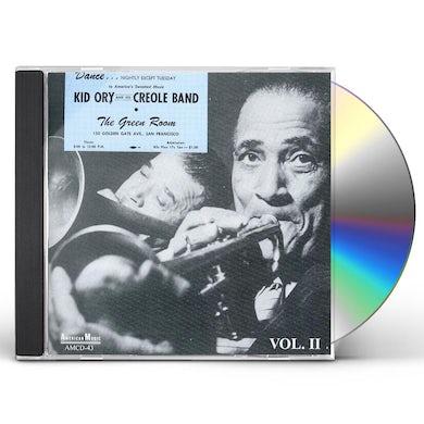 Kid Ory AT THE GREEN ROOM 2 CD