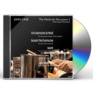 John Cage WORKS FOR PERCUSSION 2 CD