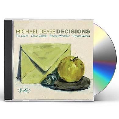 Michael Dease DECISIONS CD