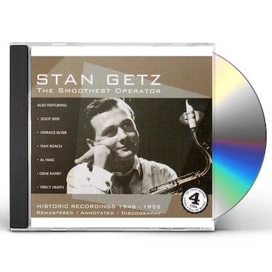 Stan Getz GETZ STAN: SMOOTHEST OPERATOR CD