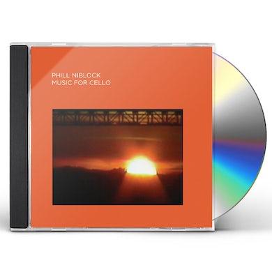 Phill Niblock MUSIC FOR CELLO CD