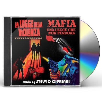 Stelvio Cipriani LA LEGGE DELLA VIOLENZA/MA CD