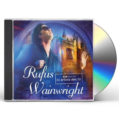 Rufus Wainwright LIVE FROM THE ARTIST'S DEN CD