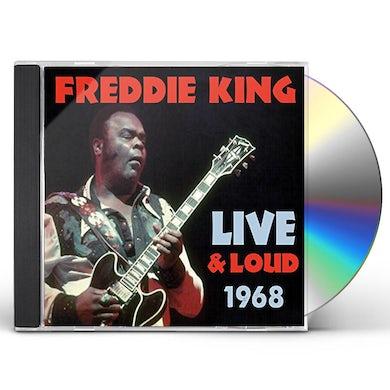 Freddie King LIVE & LOUD 1968 CD