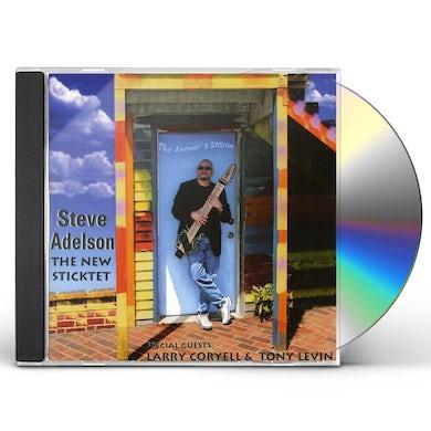 Steve Adelson NEW STICKTET CD