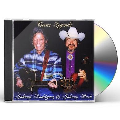 Johnny Rodriguez TEXAS LEGENDS CD